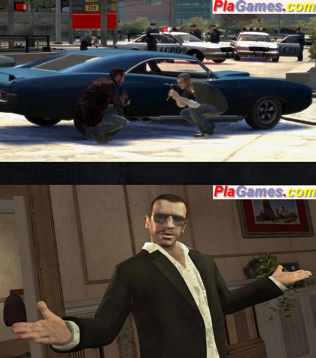 GRAND THEFT AUTO IV  PC  Razor1911 Torrent Download free crack